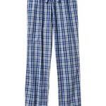Men's Patterned PJ Pants - Blue Plaid
