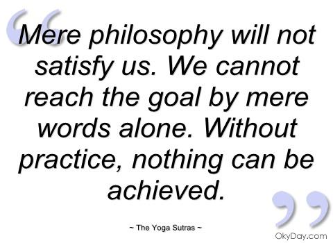 Yoga Sutra Readings